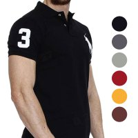 POLO COUNTRY C2-0 Kaos kerah Poloshirt Pria Kaos Polo Cotton Lycra Original