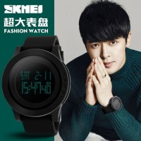 [esiafone #1] SKMEI Trendy LED Digital Alarm Chronograph Men Sport Watch - Jam Tangan Pria Original