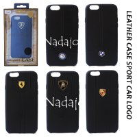 Leather Case Car Logo for Iphone 6
