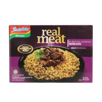 Indomie Real Meat Rendang Mie Instan [110 g]