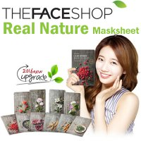 [The Face Shop] Real Nature Mask Sheet X10ea (2016 NEW)