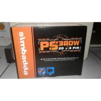 Power Supply Simbadda 380W / 380 Watt BOX