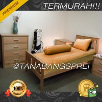 Sprei Polos Katun Super uk.120x200 dan 100x200 Golden emas (kuning) (Sprei & Bed Cover)