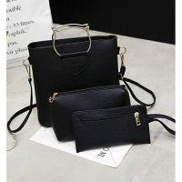 Tas Wanita Warna Hitam Model Like Fossil Hush Puppies Kuat Super Polos