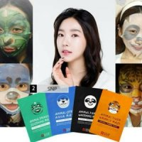 Animal Mask / Masker Perawatan Wajah from Korea / NSP Masker Animal