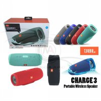 JBL Charge 3 Bluetooth Speaker Waterproof Portable Outdoor