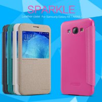 NILLKIN Sparkle Leather Case / Flip Case for Samsung Galaxy A8 - Original