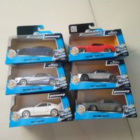 Diecast Fast Furoius 7 Car Set isi 6PCS NEW MIB by JADA