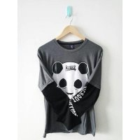 baju kaos lengan panjang panda kickout apparel kick out distro