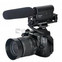 VLOGGER SHOTGUN PROFESIONAL MIC CAMERA DSLR MIRRORLESS