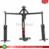 Handheld Stabilizer Camera Rig Gimbal 2 Axis for DSLR C