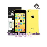 [HinH Portimao bumper for iPhone 5C Combo Pack film (front and back) Film iPhone 5 iPhone 5 iPhone 5 crystal film protective film Transparent iPhone 5 iPhone 5 iPhone 5 back film LCD protective film protective film Screen Protector LCD Film Screen Protector smartphones Screen Protector