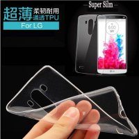 [globalbuy] Ultra Thin Slim Transparent Clear Mobile Phone Case Soft TPU Gel Cover For LG /3417096