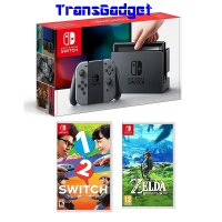 Konsol Nintendo Switch (Gray) + 2 Games