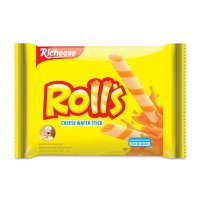 Nabati Richeese Rolls Wafer Stick Keju 43 gr