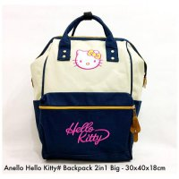 Tas import Wanita Import Backpack Anello Hello Kitty 2in 1 Big - 4