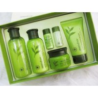 Innisfree Green Tea Balancing Special Skin Care Set, 6 Pcs/Box Korea