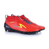 Specs Sepatu Bola 100766 ACCELERATOR INFINITY - EMPEROR RED DARK GRANITE FRESH YELLOW