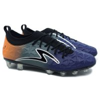 Specs Sepatu Bola 100786 SWERVO INERTIA - GALAXY BLUE ANTHRACITE GREY SPIRIT ORANGE B