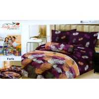 Sprei Lady Rose Disperse Uk.180 x 200 Motif Furla