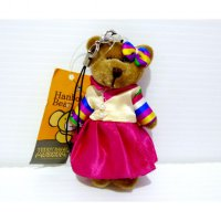 Boneka Teddy Bear Original Teddy Bear Museum Korea Hanbok Bear