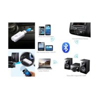 USB Receiver Bluetooth Dongle Audio Music New