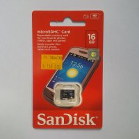 Micro SD SANDISK 16 GB SPEED 30 MB/s CLASS 6 (DIJAMIN ASLI)