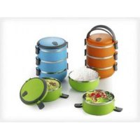 Rantang stainless 3 susun / steel lunch Box Tiga Susun