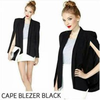 Blezer Cape Black and Red