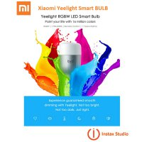 Xiaomi Yeelight Smart Color LED Light, Wifi Controlled by Smartphone