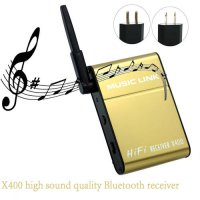 [globalbuy] X400 Wireless Bluetooth APTX Lossless Audio Receiver Adapter for Phone Headpho/4032983