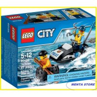 LEGO # 60126 City Tire Escape Original Policeman Sea