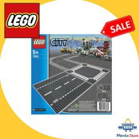 LEGO # 7280 City Straight Crossroad Plates Base Plate Supplemental