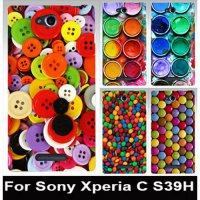 [globalbuy] Colorful DIY painted mobile phone case transparent side PC case hard Back cove/2253760