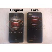 [Original] 3D Relief Superhero Soft Case - Oppo R7 / R7 Lite