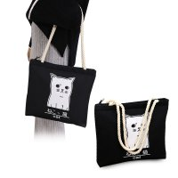 Japanese Pattern Daily Canvas Tote Bag / Tas Kanvas Motif