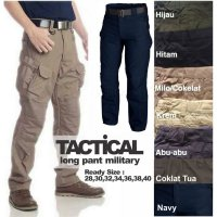 celana panjang tactical cargo outdoor army military camping blackhawk