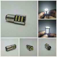 Lampu Rem 57 Led Flash | Strobo | kedip Mobil Dan Motor 2 mode - Putih