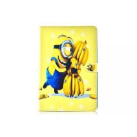 [globalbuy] 2016 Case For Samsung Galaxy Tab A 8.0 SM-T355 T350 The MINIONS Smart Sleep Ma/3723330