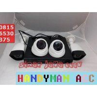 PAKET CCTV 4CHANEL LENS 3MP +HDD 2TERA