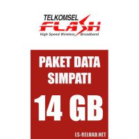 TELKOMSEL FLASH 12GB+2GB Video (KHUSUS NOMOR SIMPATI), 24JAM 30HARI