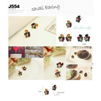 KOREA JEWELRY ★ Cavali Earing / Lovely Design / High Quality / Made In Korea / Ready Stock