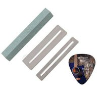 [worldbuyer] Fingerboard Guards and Guitar Fret File Cleaning Tool Set by Creanoso/217468