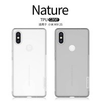 Nillkin TPU Case (Nature TPU) - Xiaomi Mi Mix 2s White/Putih