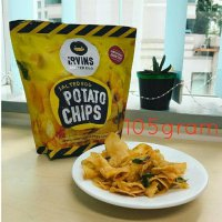 Irvins Salted Egg Potato Chips 105Gram