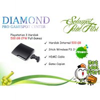 [Terbatas] PS3 / PS 3 Slim 500 GB FULL GAME Multiman (NO ODE)