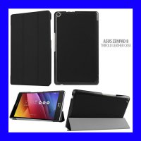 Asus ZenPad 8 Z380KL - Tri Fold Standing Leather Case Casing Cover