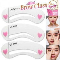 MINI BROW CLASS DRAWING GUIDE ISI 3 PCS / CETAK ALIS / CETAKAN ALIS / MAGICAL EYEBROW