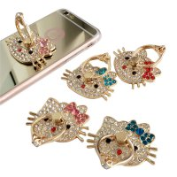 BUY 1 GET 1 - Ringstand Hello Kitty Iring Kitty Swarovski Ring Stand Holder Premium iRing Kristal