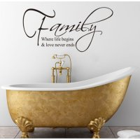 Sticker Wallpaper Dinding Family